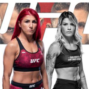 Видео боя Полиана Ботельо — Луана Каролина UFC on ESPN 23
