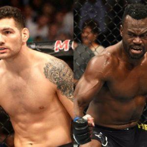 Видео боя Юрайа Холл — Крис Вайдман UFC 261