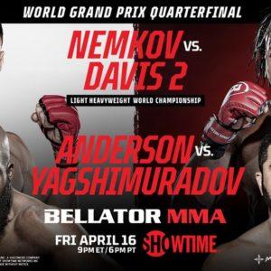 Прямая трансляция Bellator 257: Вадим Немков — Фил Дэвис 2