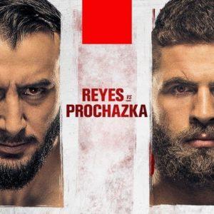 Прямая трансляция UFC on ESPN 23: Доминик Рейес — Иржи Прохаска