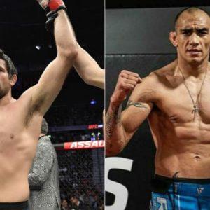 Видео боя Бенеил Дариуш — Тони Фергюсон UFC 262