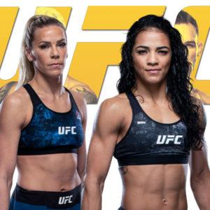 Видео боя Вивиан Араужу — Кэтлин Чукагян UFC 262