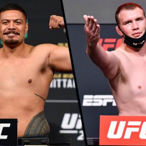 Видео боя Джастин Тафа — Джаред Вандераа UFC Fight Night 188