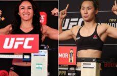 Видео боя Карла Эспарза — Янь Сяонань UFC Fight Night 188