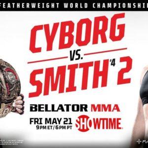 Прямая трансляция Bellator 259: Крис Сайборг — Лесли Смит 2