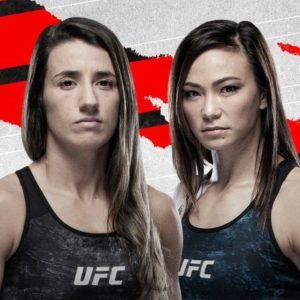 Видео боя Мишель Уотерсон — Марина Родригес UFC on ESPN 24