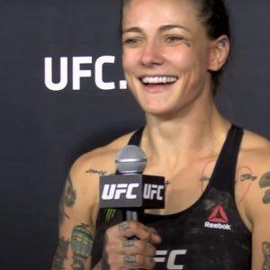 Видео боя Стефани Эггер — Сара Алпар UFC Fight Night 188