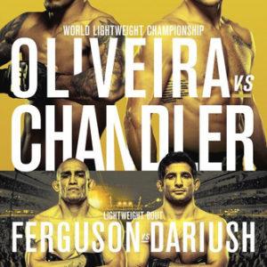 Прямой эфир UFC 262: Майкл Чендлер — Чарльз Оливейра. Смотреть онлайн