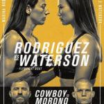 Прямая трансляция UFC on ESPN 24: Мишель Уотерсон - Марина Родригес