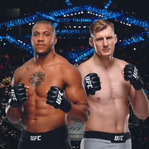 Видео боя Александр Волков — Сирил Ган UFC Fight Night 190