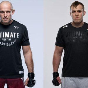 Видео боя Алексей Олейник — Сергей Спивак UFC on ESPN 25