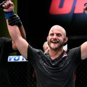 Видео боя Джастин Джейнс — Чарльз Роса UFC Fight Night 190