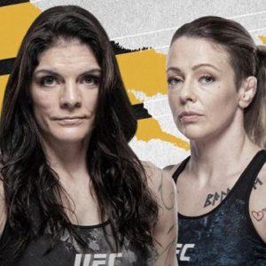 Видео боя Джоан Калдервуд — Лорен Мерфи UFC 263