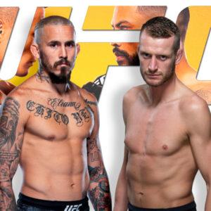 Видео боя Тим Минс — Дэнни Робертс UFC on ESPN 25