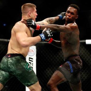 Видео боя Исраэль Адесанья — Марвин Веттори 2 UFC 263