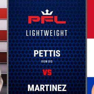 Видео боя Энтони Петтис – Алекс Мартинес PFL 4: 2021 Regular Season
