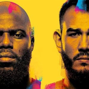 Прямая трансляция UFC Fight Night 189: Жаирзиньо Розенстрайк — Аугусто Сакаи