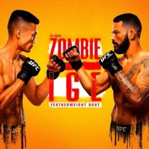 Прямой эфир UFC on ESPN 25: Корейский Зомби — Дэн Иге. Смотреть онлайн