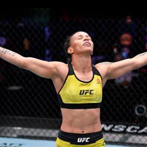 Видео боя Аманда Лемос — Монсеррат Руис UFC on ESPN 26