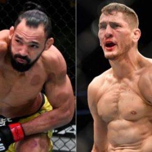 Видео боя Мичел Перейра — Нико Прайс UFC 264