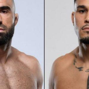 Видео боя Омари Ахмедов — Брэд Таварес UFC 264