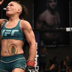 Видео боя Сиджара Юбэнкс — Элис Рид UFC on ESPN 27
