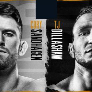 Прямая трансляция UFC on ESPN 27: Ти Джей Диллашоу — Кори Сандхаген