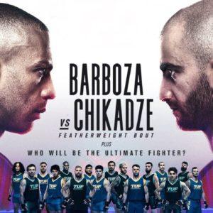 Прямой эфир UFC on ESPN 30: Эдсон Барбоза — Гига Чикадзе. Смотреть онлайн