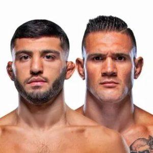 Видео боя Кристос Гиагос — Арман Царукян UFC Fight Night 192