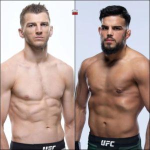 Видео боя Насрат Хакпараст — Дэн Хукер UFC 266