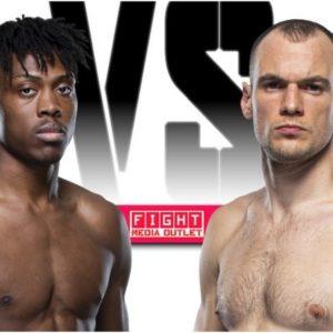 Видео боя Урош Медич — Джалин Тернер UFC 266
