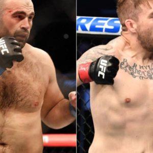 Видео боя Шамиль Абдурахимов — Крис Дакас UFC 266