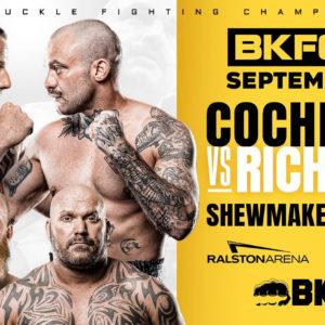 Прямая трансляция BKFC 21: Дакота Кокрейн и Майк Ричмен