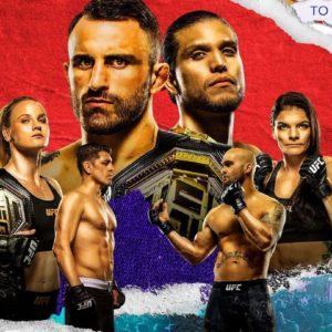 Прямая трансляция UFC 266: Александр Волкановски — Брайан Ортега