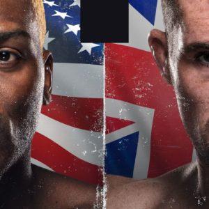 Прямая трансляция UFC Fight Night 191: Даррен Тилл — Дерек Брансон